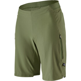 Patagonia Tyrolean Bike Shorts Women, camp green